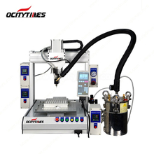 High Speed Thc Oil Cartridge Filling Machine with Heating System for Thick Oil
