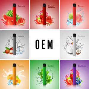Factory price nicotine salt best e liquid mixed fruit disposable electronic cigarette