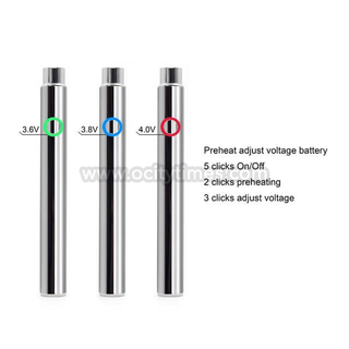 S6 Preheat Vape Pen battery 510 Thread